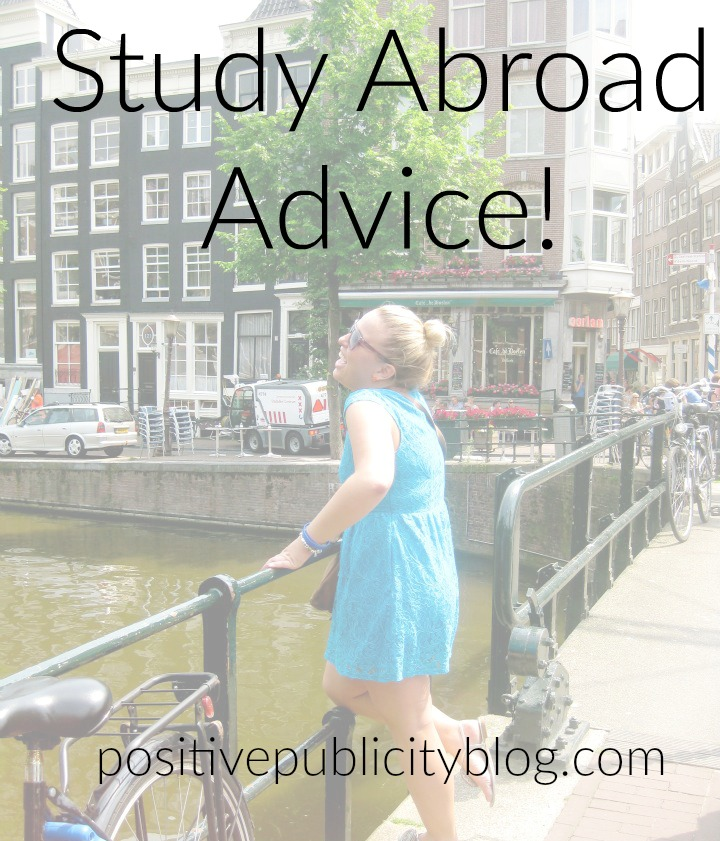 Studying Abroad? Check out my advice!