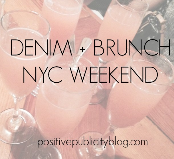 Denim + Brunch: NYC Weekend