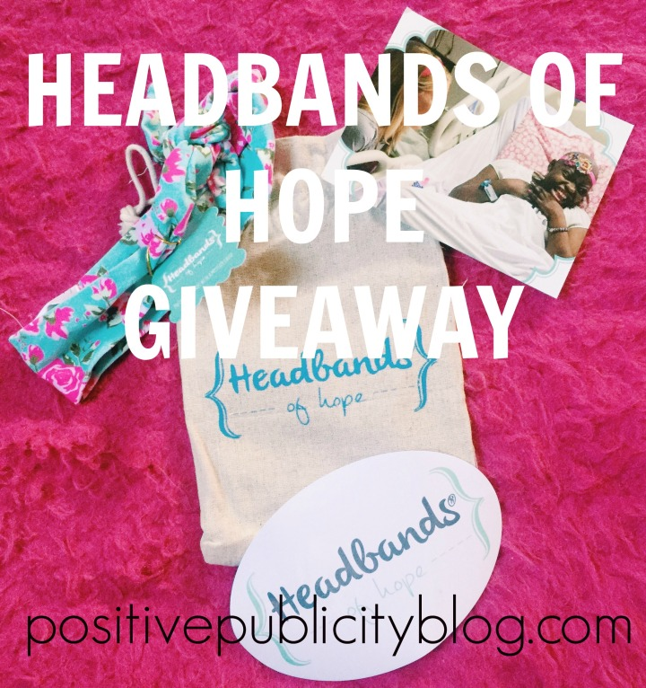 100th Blog Post + Headbands of Hope Giveaway!