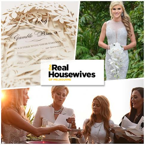 An Invitation Fit for a Real Housewife