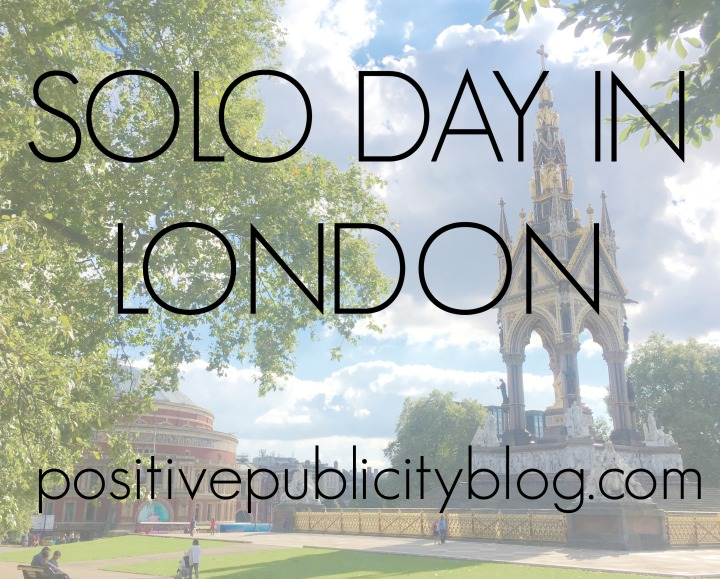 A Solo Day in London