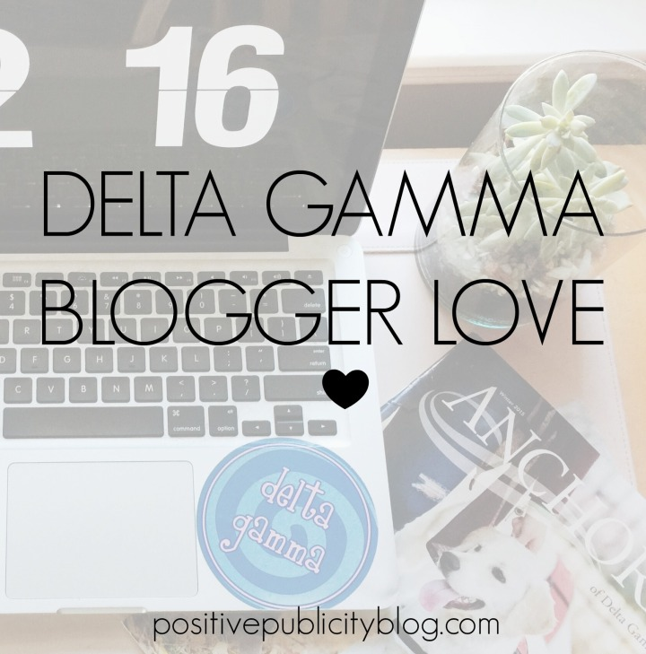 Delta Gamma Blogger Love