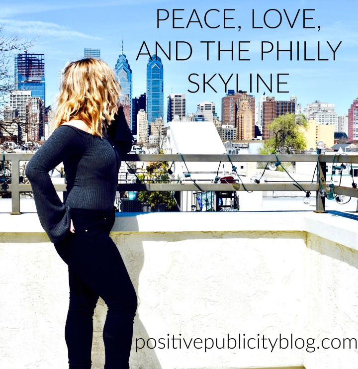 Peace, Love and the Philly Skyline