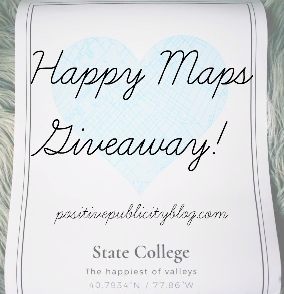 Happy Maps Giveaway!