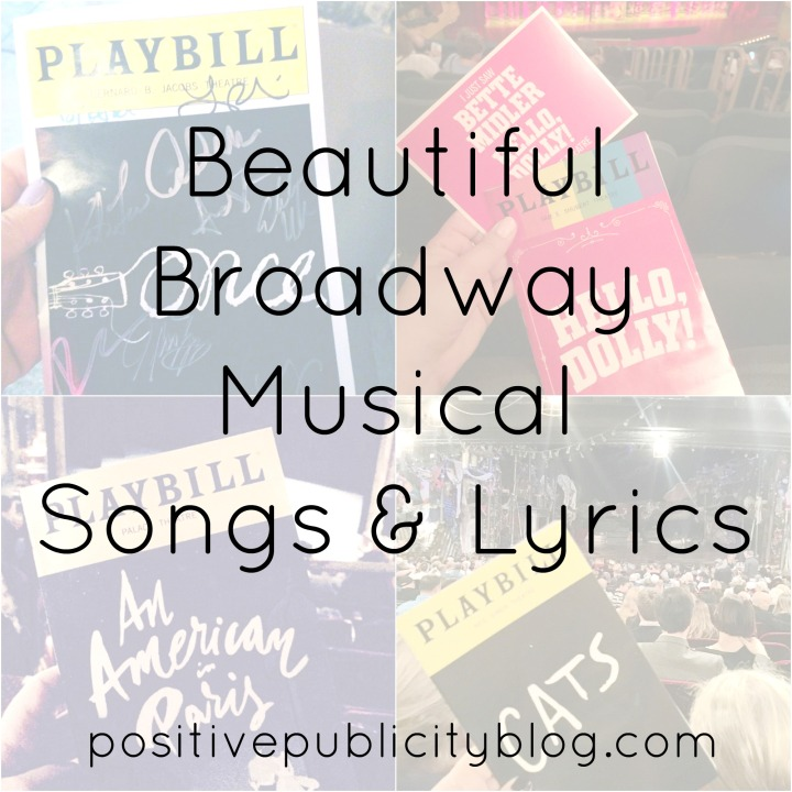Beautiful Broadway Musical Songs & Lyrics