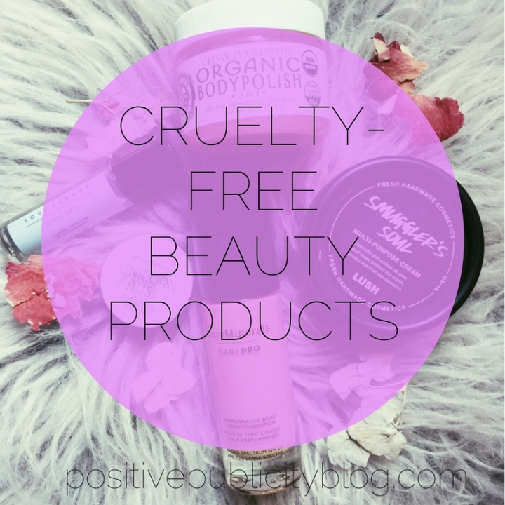 5 Cruelty-Free Beauty Products to Check Out