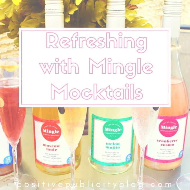 Summer Entertaining Idea: Refreshing with Mingle Mocktails