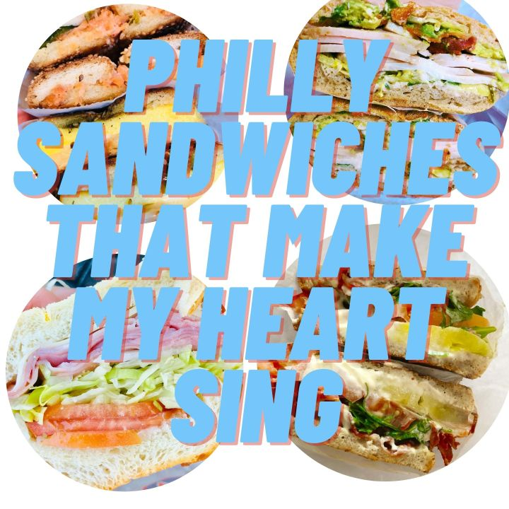 Philly sandwiches that make my heart sing