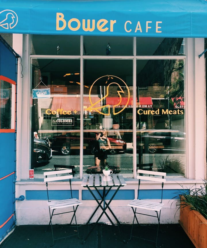 Coffee shops to work outside at in Philly ☕