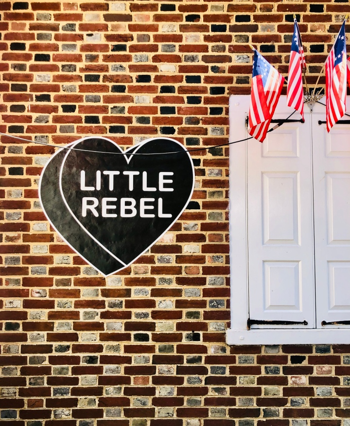 The Little Rebel – A Visit to the Betsy RossHouse