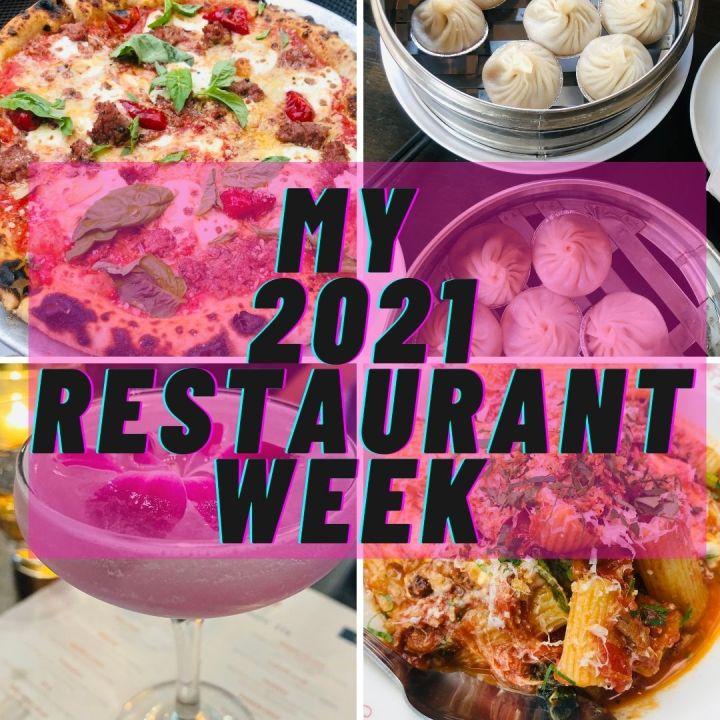 My 2021 CCD RestaurantWeek